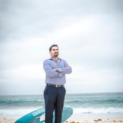Australia / Sydney Danny Bhandari : Investor,Entrepreneur and Company Director , Portrayed at Bronte Beach , Sydney© Daniele Mattioli for Quote Magazine