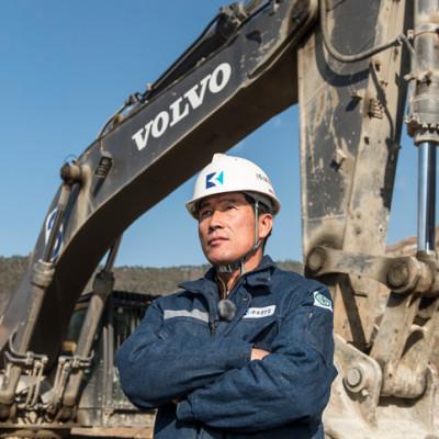 Korea / Gunwi / 26/11/2014Bo Gwang Industry in Gunwi© Daniele Mattioli for Volvo Construction Equipments